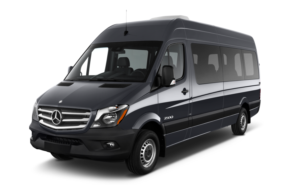 Shuttle van for rental